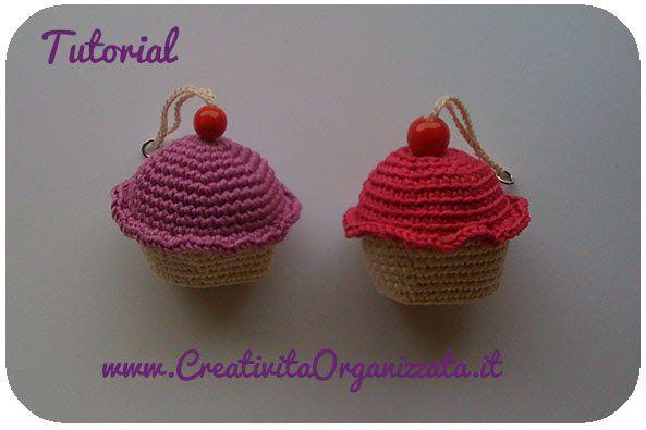 Amigurumi Cupcake Keychain : 17 beste afbeeldingen over crochet keychains free patterns ...