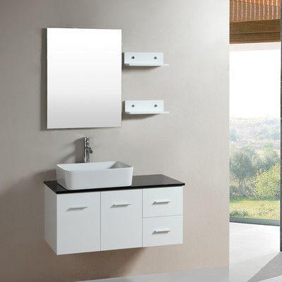 Kokols 24 Bathroom Vanity Set best 25+ floating bathroom vanities ideas on pinterest   modern