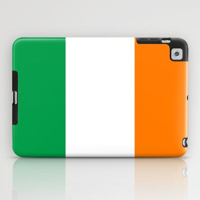 National flag of the Republic of Ireland - Authentic 3:5 Version iPad Case
