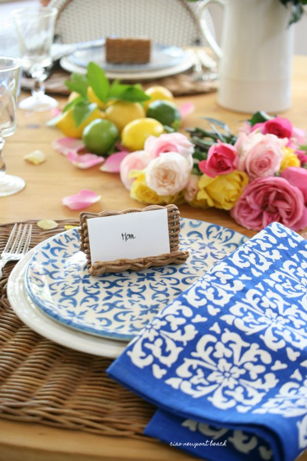 Secret Garden: Ciao! Newport Beach: French Country Mother's Day Style