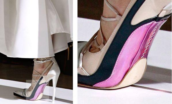 Zapatos futuristas, nueva (y espantosa) tendencia