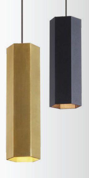 Hängelampe / modern / für Innenbereich / aus Metall - HEXO by 3H Draft - WEVER & DUCRE