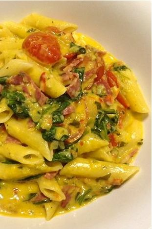This versatile tasty vegetable salami pasta can easily be adapted by what you have in your fridge and is a perfect mid-week meal made in minutes.