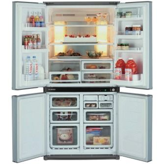 Sharp SJF624STSL 624L French Door Refrigerator at The Good Guys $1900