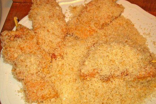 Foto de la receta de pollo rebozado crujiente