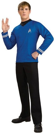 Star Trek Movie (2009) - Blue Shirt Deluxe Adult Costume