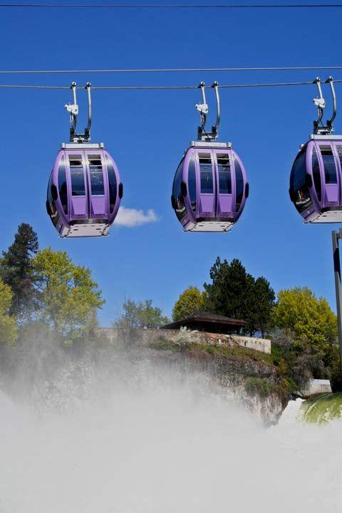 Riverfront Park Gondolas, Spokane Falls, Spokane WA, Print ...