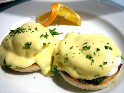 One of my favorite things ever--Hollandaise Sauce