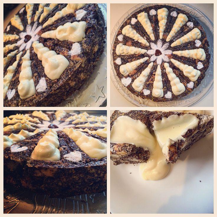 makos guba torta- Hungarian poppyseed cake in zila