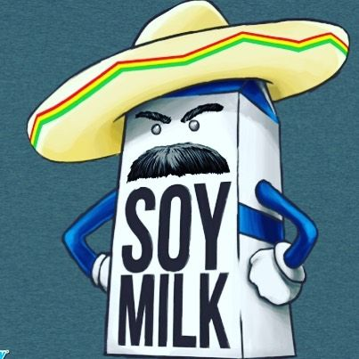 What if soy milk is just regular milk introducing itself in Spanish? #thoughts #seriousproblems #señor #soymilk #makessense #studybreak by josephinepep
