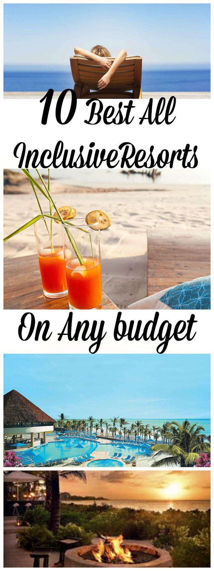 Want a tropical, warm, escape? Trying to run away from the winter blue? Check out these all-inclusive resorts that are budget friendly yet stunning. Get away and choose one of these great destinations because not all those that wander are lost...