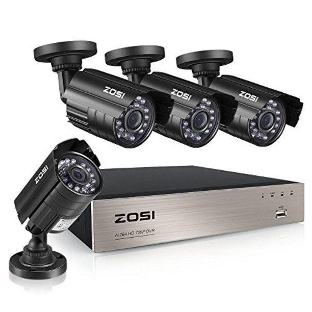 Zosi Home Video Security Camera In 2021 Video Security System Video Security Security Camera System