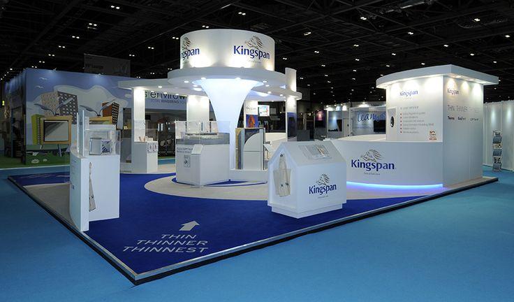 Kingspan exhibition stand at Ecobuild, NEC, Birmingham