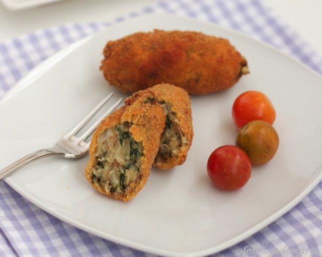 Masa de Croquetas de espinacas y pollo en panificadora | La cocina perfecta