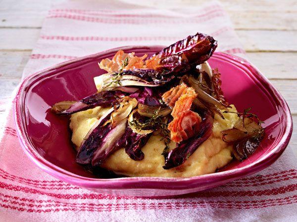 Schnell und lecker - Rezepte aus der Express-Küche - polenta-mit-radicchio0  Rezept