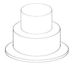 free blank cake template google search blank cake templates