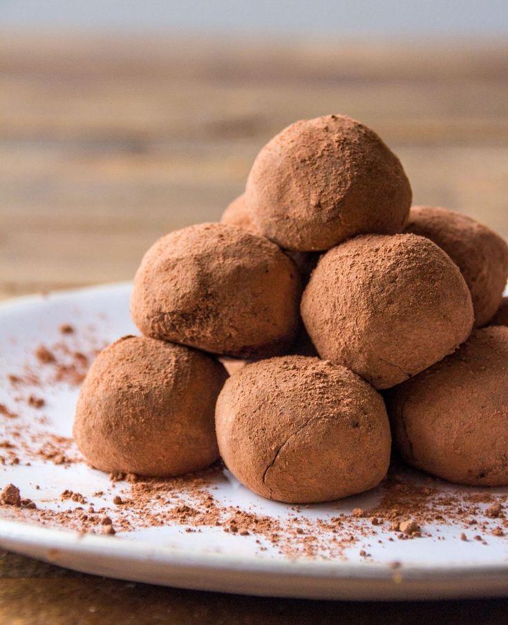 Chocolate Orange Truffles | Deliciously Ella