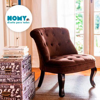 #Homy #Deco #Poltrona #Salón #Estar #Living #Retro