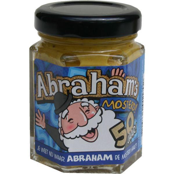 Nu weet je waar Abraham de mosterd haalt.