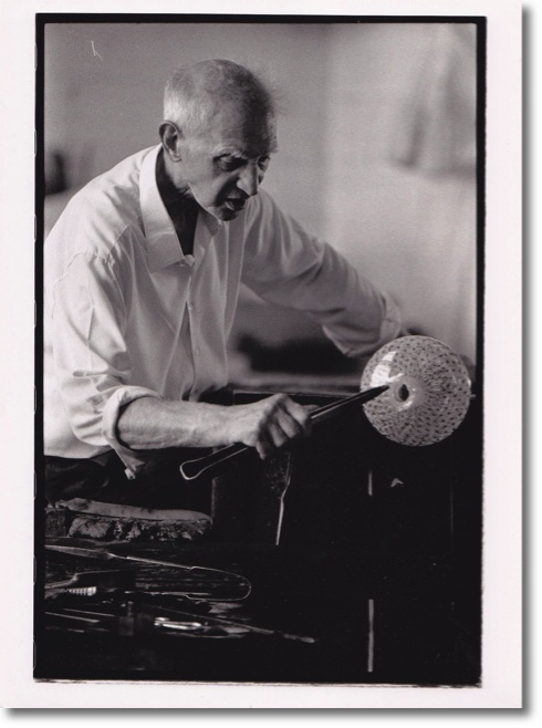 Archimede Seguso was an amazing glass artist.    Read about him in John Berendt's book The City of Falling Angels. http://www.amazon.com/City-Falling-Angels-John-Berendt/dp/0143036939/ref=sr_1_1?s=books=UTF8=1332738424=1-1