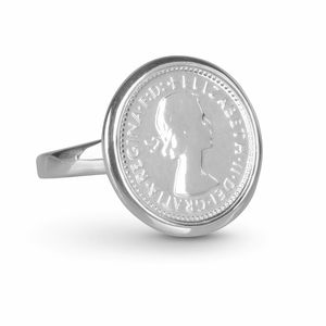 HC-TRQE2 Australian Queen Elizabeth Threepence Coin Sterling Silver Ring by Cotton & Co.jpg