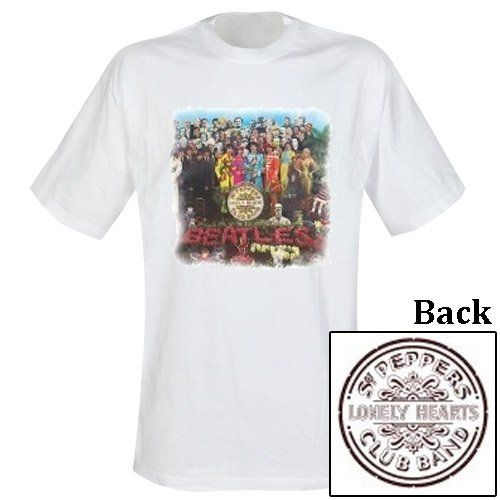 Camiseta Beatles Motivo: Sgt Pepper #camiseta #friki #moda #regalo