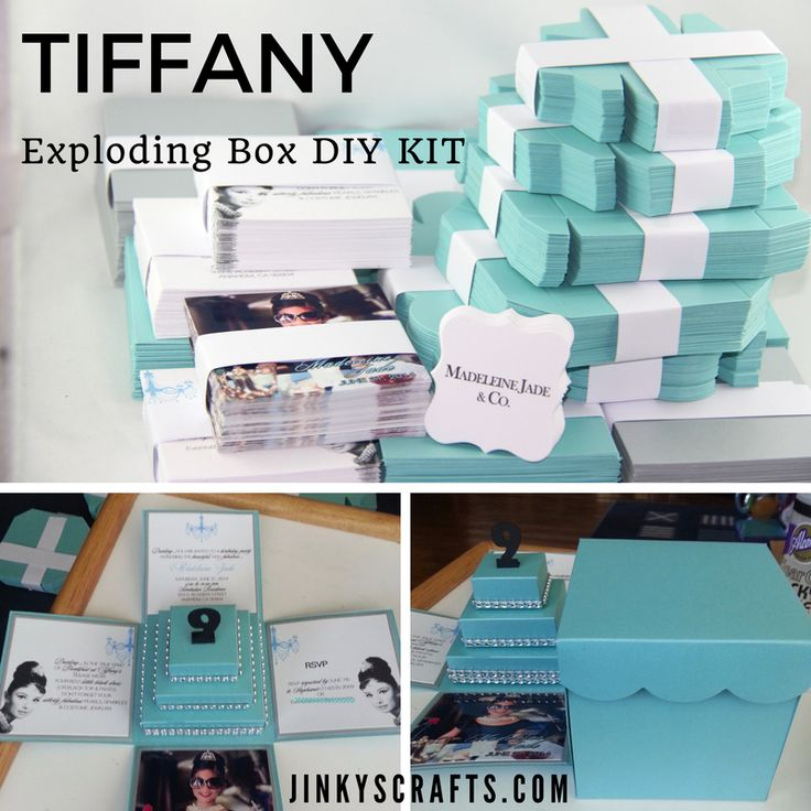 30 best diy weddings quinceanera sweet 16 images on pinterest fully assembled or diy kit for a custom exploding box invitations by jinkyscrafts breakfast solutioingenieria Gallery