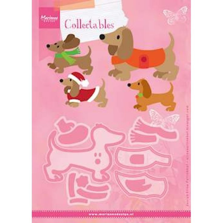 #4 AUG Collectables set Eline's Dachshund