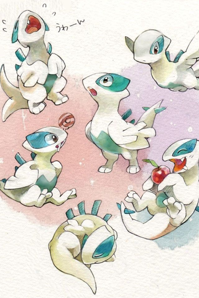 Pokemon Artwork Wallpaper Baby Lugia