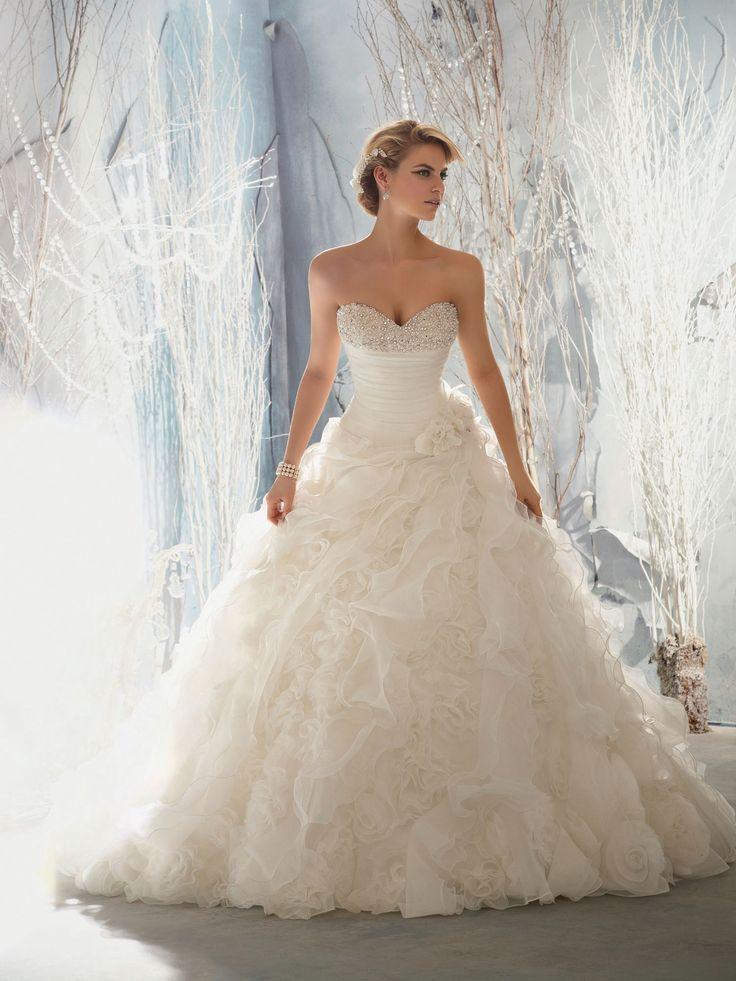 17 besten Hochzeitskleid Bilder auf Pinterest | Hochzeitskleider ...