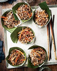 Cold Soba Salad with Dried Shiitake Dressing Recipe on Food & Wine