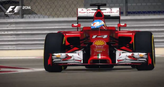 Video – F1 2014: novo trailer mostra Ferrari de Fernando Alonso no Bahrein | VeloxTV