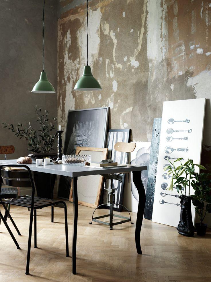 Med de nya bordsbenen LALLE kan du förnya arbetsplatsen eller krydda ditt matbord med lite modern rokoko!