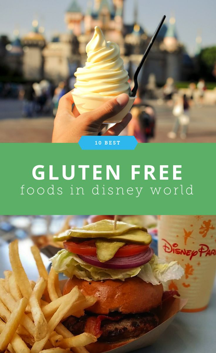 Where to Get The 10 Best Gluten Free Foods in Disney World