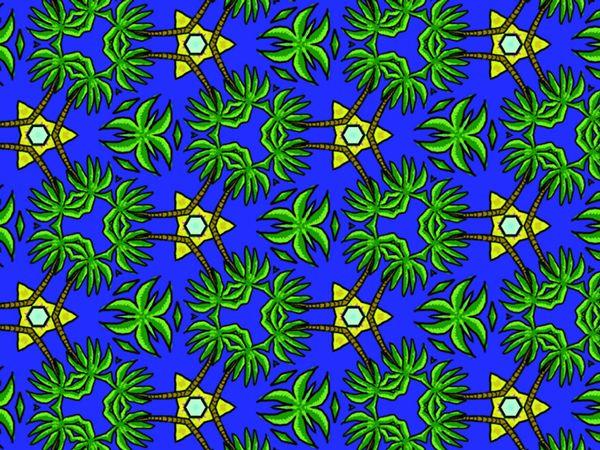 Tropical Dom by Lottie Norton, via Behance