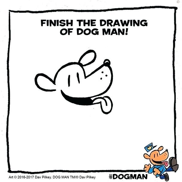 Dog Man Unleashed Coloring Pages Add Your Artistic Touch To This Drawing Of About Me Coloring Pages Dog Man Book Dog Man Unleashed Dav Pilkey Dog Man