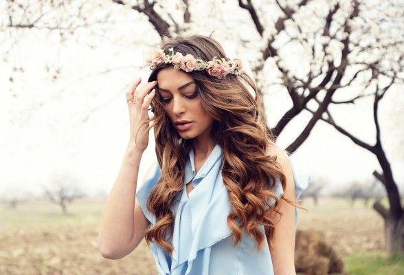 Armenia's Iveta Mukuchyan looks STUNNING in Eurovision 2016 postcard photos and video
