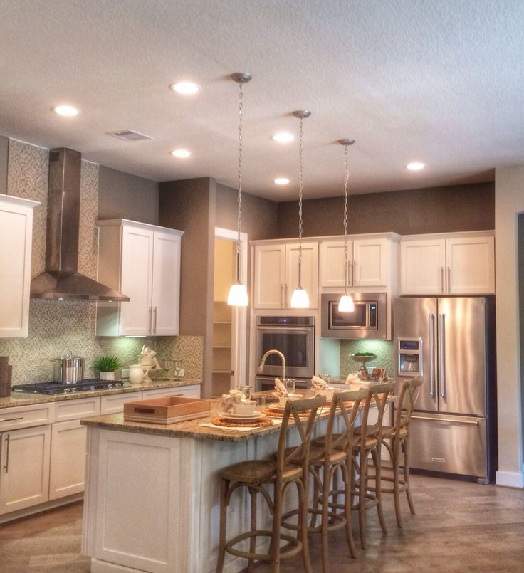 Pin Oak Enclave By Pulte Homes Hillside Model Kitchen