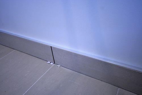 Use Tile As Baseboard In Bathroom Bath Pinterest Tops Silver And In Bathroom