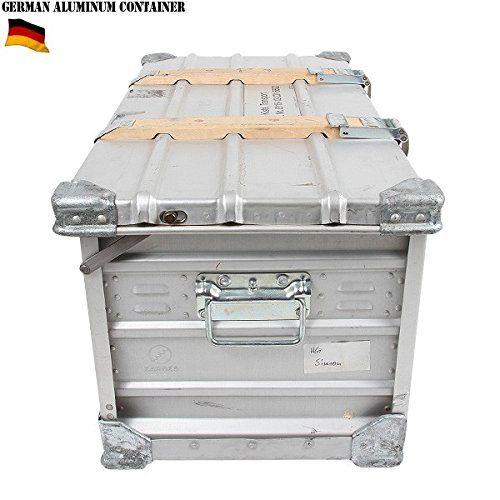 ドイツ軍ZARGES社製 折畳式アルミコンテナ
