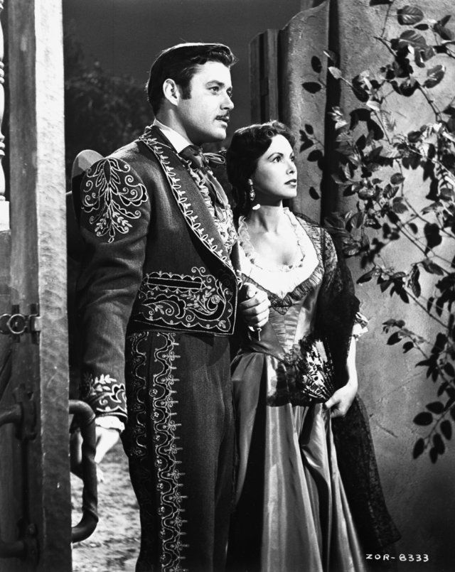 Still of Guy Williams in  an episode of Disney's Zorro. I had a serious crush on him for years!