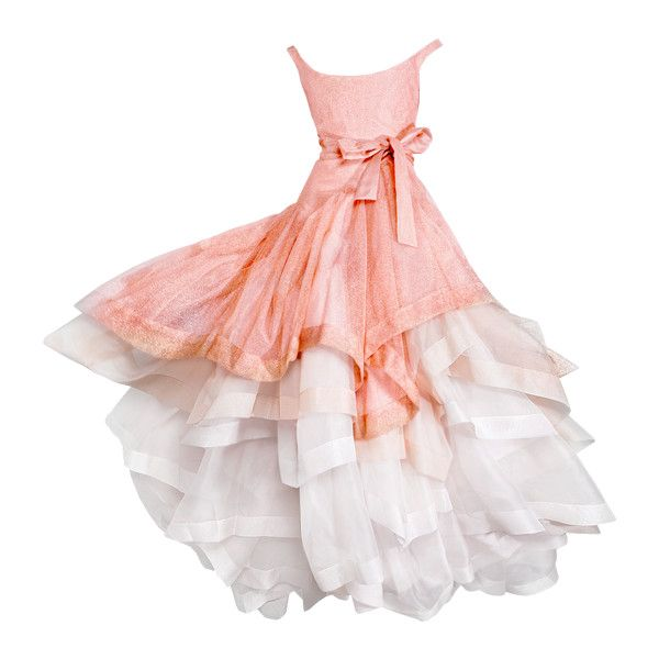 Satinee's collection - Dream gowns ❤ liked on Polyvore featuring dresses, gowns, vestidos, long dresses, pink ball gown, pink evening gowns, long pink dress, pink gown and pink dress