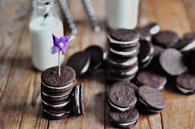 Food pour vous: Homemade Oreo Cookies/ Домашнее печенье Орео