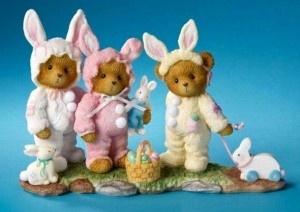 More bears dressed as bunnies!