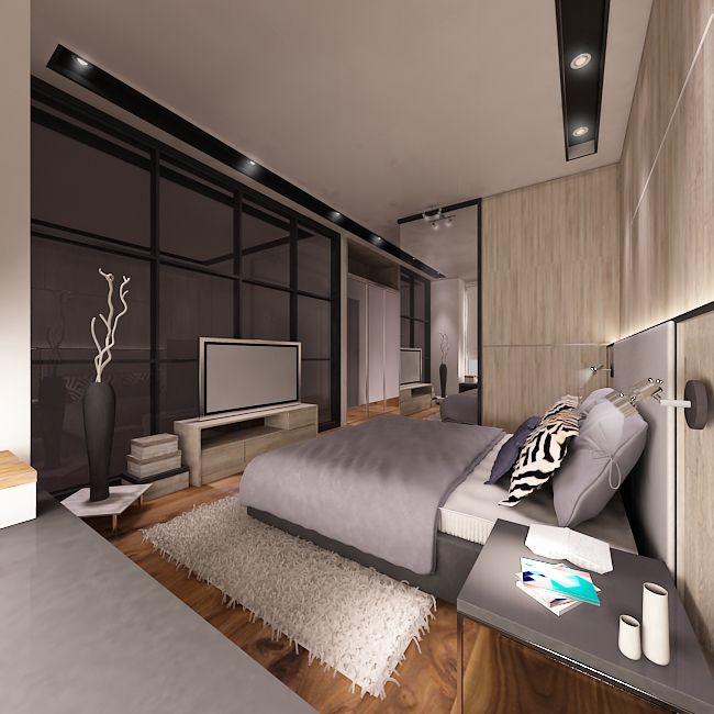 cyan condo interior projects interiordesign bedroom apartment loft