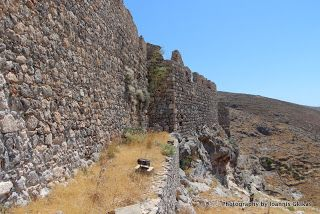 Chora Castle on the island of Kalymnos http://www.discoveringkos.com/2013/07/chora-castle-on-island-of-kalymnos.html