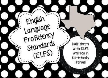 English Language Proficiency Standards (ELPS), Polka Dot, $4