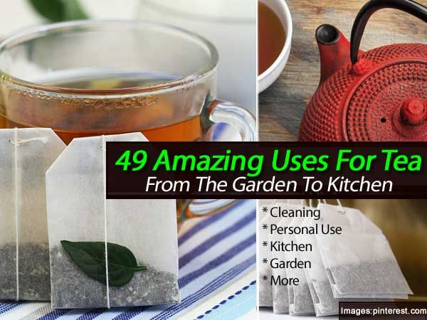 27 best images about uses for tea and tea bags on pinterest gardens bags and brooke d 39 orsay - Uses for tea bags ...