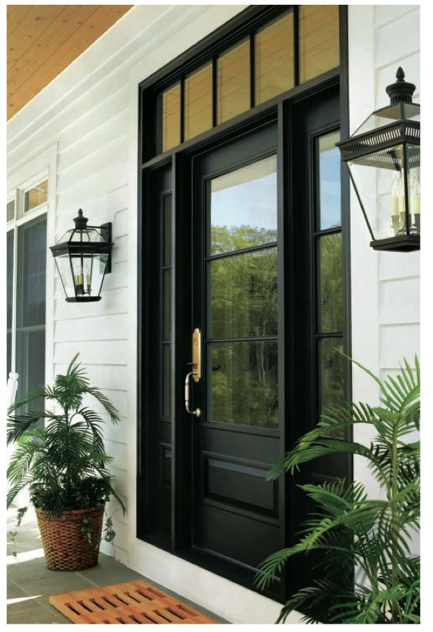 Andersen front door. Probably wouldn't work on our house, but I love it.