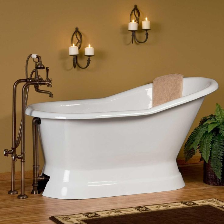 1000 Ideas About Pedestal Tub On Pinterest Tubs